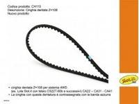 Immagine di Cinghia dentata Z=108 per sistema 4WD