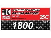 Picture of Batteria Li-Po 7,4V. 1800mAh 25C (consigliata per auto 1:16/1:18)