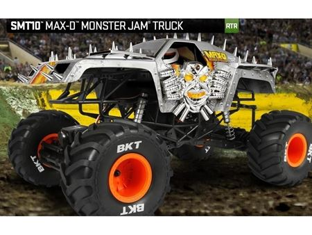 Picture of Axial MAX-D Monster Jam Truck 1/10th Scale Electric 4WD - RTR