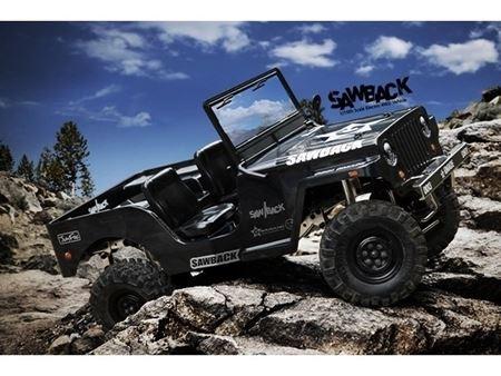 Immagine di Gmade GS01 Sawback 4WD ARTR 1/10 Rock Crawler - (nero)