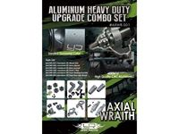 Immagine di Yeah Racing Aluminum Heavy Duty Upgrade Combo Set S01 For Axial Wraith #AXWR-S01