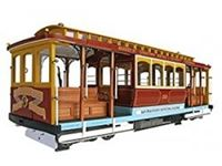 """Picture of 1/22 """"CALIFORNIA STREET"""" CABLECAR"""