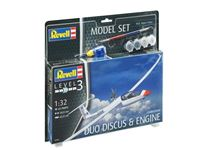 Immagine di 1:32 Model Set Gliderplane DUO DISCUS & engine