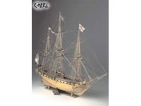 Picture of Corel Unicorn Fregata Britannica - HMS UNICORN - 18th Century Frigate SM11