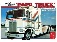Picture of AMT 1/25 KIT TYRONE MALONE KENWORTH TRANSPORTER PAPA AMT00932