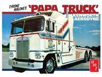 Immagine di AMT 1/25 KIT TYRONE MALONE KENWORTH TRANSPORTER PAPA AMT00932