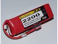 Picture of RCS - Lipo Xell-Sport 11.1V 2200MAH 3S 25C SAF08116