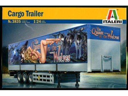 Immagine di ITALERI 1/24 Cargo Trailer the Queen of the Volves
