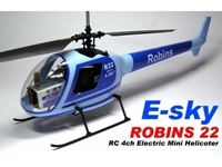 Immagine di E Sky - Fusoliera robins  blu 0556