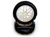 Immagine di Radio Kontrol - Rko gomme+cerchi 1/10 rally 30712