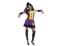 Immagine di Costume di Carnevale per adulto Horror Clown donna
