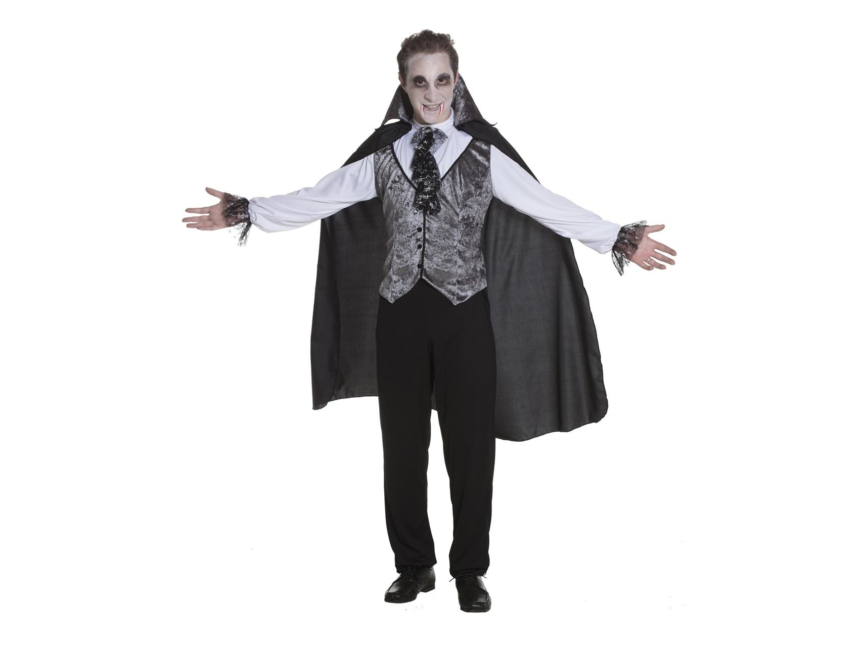 Costume di Carnevale per adulto Vampiro dark Uomo