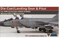 Immagine di 1/48 Die-Cast Landing Gears for AMK 88003 & 88008