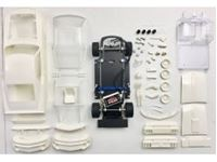 Immagine di MUSTANG BOSS 302 1969-70 - Full White Kit - preassembled chassis