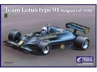 Immagine di 1/20 AUTO F1 TEAM LOTUS TYPE 91 GP BELGIO 1982
