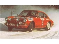 Picture of PORSCHE 911 RSR - RALLY SWEDEN 1968 GULF