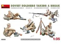 Immagine di 1/35 SOVIET SOLDIERS TAKING A BREAK