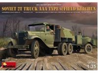 Immagine di 1/35 SOVIET 2t TRUCK AAA TYPE w/FIELD KITCHEN