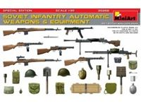 Immagine di 1/35 Soviet Infantry automatic weapons & equip