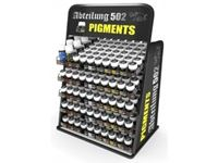 Picture of Abteilung Pigments Display (48 colors x 6 units + 2 auxiliary products x 4 units) FREE DISPLAY RACK