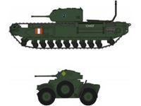"Picture of 1/72 Churchill Mk.I/II & Daimler Mk.II ""Dieppe Raid"" (2 kits) Limited Edition"