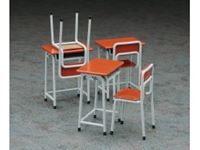 Picture of 1/12 School Desk & Chair