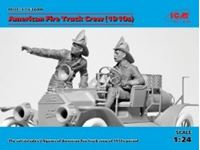 Immagine di 1:24 American Fire Truck Crew (1910s) (2 figures) (100% new molds)