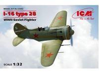Immagine di 1:32 I-16 type 28, WWII Soviet Fighter