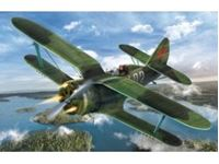 Immagine di 1:32 I-153, WWII Soviet Fighter (100% new molds)
