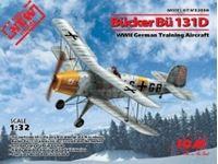 Immagine di 1:32 Bucker Bu 131D, WWII German Training Aircraft (100% new molds)