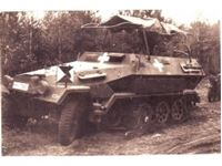 Immagine di 1:35 Sd.Kfz.251/6 Ausf.A, WWII German Armoured Command Vehicle