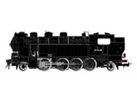 Picture of SNCF, steam locomotive 141 TA 481 in black livery, period III