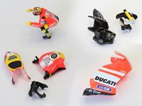Picture of PACK CONVERSION DUCATI Mini-Z MOTO RACER (MCB002ADR+BDR+CDR+DDR)
