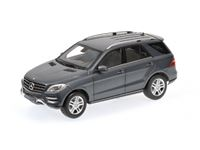 Picture of MINICHAMPS MERCEDES BENZ M CLASS 2011 GREY METALLIC 1/18