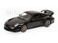 Picture of MINICHAMPS PORSCHE 911 997 II GT2 RS 2011 BLACK WITH SILVER WHEELS 1/18