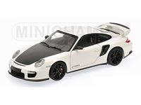 Picture of MINICHAMPS PORSCHE 911 997 II GT2 RS 2011 WHITE WITH BLACK WHEELS 1/18
