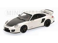 Immagine di MINICHAMPS PORSCHE 911 997 II GT2 RS 2011 WHITE WITH BLACK WHEELS 1/18