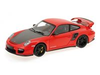 Picture of MINICHAMPS PORSCHE 911 997 II GT2 RS 2011 RED WITH BLACK WHEELS 1/18