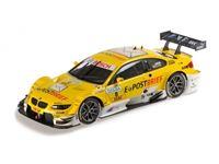 Immagine di MINICHAMPS BMW M3 DTM EPOST BRIEF TEAM SCHNITZER DIRK WERNER DTM 2012 1/18
