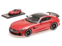 Picture of ALMOST REAL MERCEDES AMG GT R 2017 METAL RED 1/43