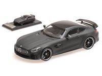 Picture of ALMOST REAL MERCEDES AMG GT R 2017 LEATHER MATT BLACK 1/43