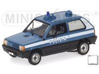 Immagine di MINICHAMPS SILVER LINE FIAT PANDA 1980 POLIZIA ITALIANA 1/43