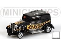 Picture of MINICHAMPS SILVER LINE AMERICAN GRAFFITI HOT ROD 1932 WITH FLAME 1/43