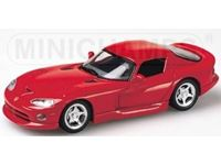 Picture of MINICHAMPS SILVER LINE DODGE VIPER COUPE'' 1993 RED 1/43