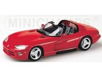 Picture of MINICHAMPS SILVER LINE DODGE VIPER GTS CABRIO 1993 RED 1/43