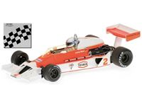 Picture of MINICHAMPS SILVER LINE McLAREN FORD M26 J. MASS 1977 1/43