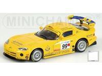 Immagine di MINICHAMPS SILVER LINE DODGE VIPER GTS-R CLARK BRITISH GT CHAMPIONSHIP 1999 1/43