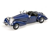 Picture of MINICHAMPS HORCH 855 SPECIAL ROADSTER 1938 DARK BLUE 1/43