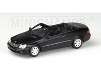 Picture of MINICHAMPS MERCEDES BENZ CLK CABRIOLET 2002 FULDA 1/43