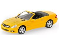 Picture of MINICHAMPS MERCEDES BENZ SL CLASS 2008 YELLOW ''LINEA GIALLO'' 1/43